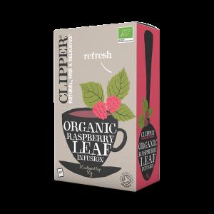 Te - Organic Rasberry Leaf Infusion - Clipper - Piggabutiken.se