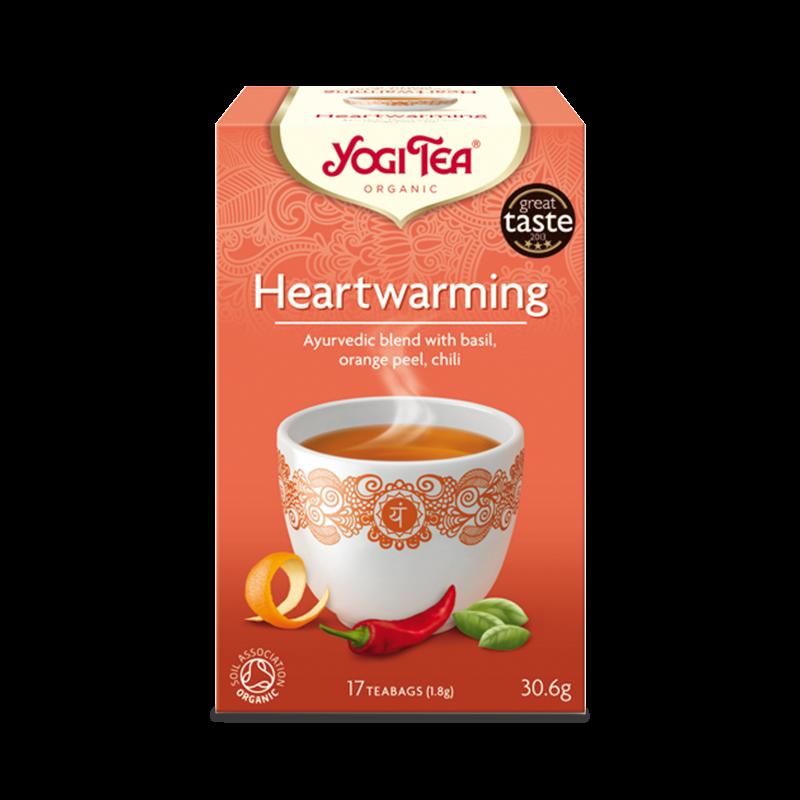 Ekologiskt Te - Heartwarming - Yogi Tea - Piggabutiken.se