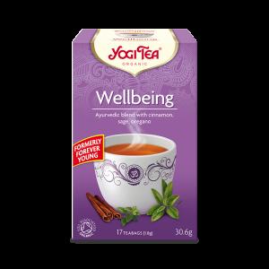 Ekologiskt Te - Wellbeing (Forever Young) - Yogi Tea - Piggabutiken.se