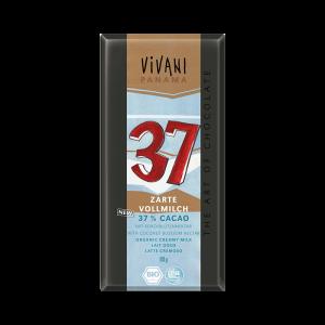 Ekologisk Ljus Choklad 37% - Vivani - Piggabutiken.se