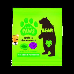 Godis - Äpple & Svartvinbär - Bear Paws/Yoyo-Piggabutiken.se