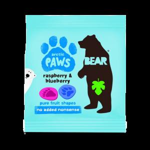 Godis - Hallon & Blåbär - Bear Paws/Yoyo - Piggabutiken.se