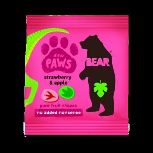 Godis - Jordgubb & Äpple - Bear Paws/Yoyo - Piggabutiken.se