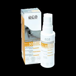 Solskydd - Sololja med spray Spf 30 - Eco Cosmetics - Piggabutiken.se