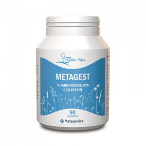 Matsmältningsenzym - Metagest - Alpha Plus - Piggabutiken.se