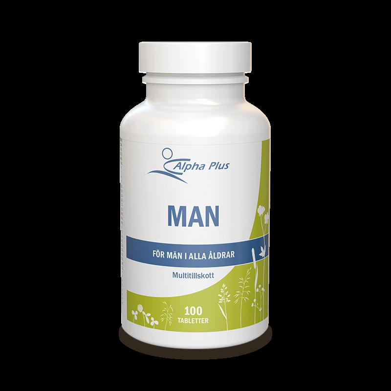 bra multivitamin för män
