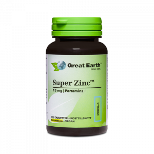 Super Zink med Gurkmeja 15mg