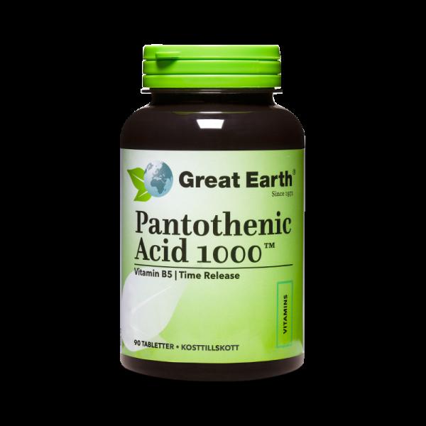 B5 Pantotensyra - Pantothenic Acid