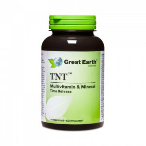 Multivitamin - TNT Regular - Great Earth Scandinavia - Piggabutiken.se