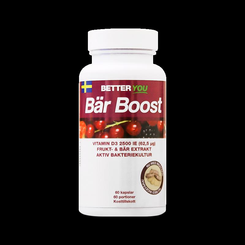 Vitaminer - Bär Boost kapslar - Better You - Piggabutiken.se