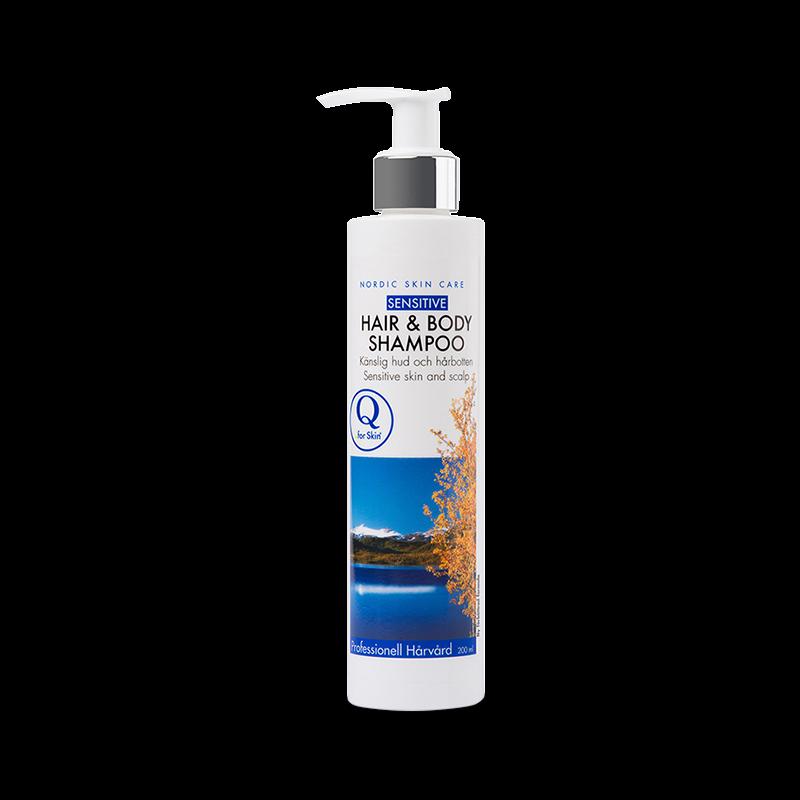 Schampo - Hair & Body Shampoo - Q for skin - Piggabutiken.se