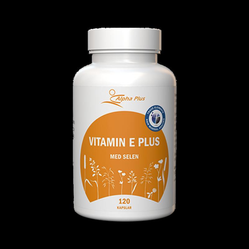 Vitamin E Plus - Alpha Plus - Piggabutiken.se