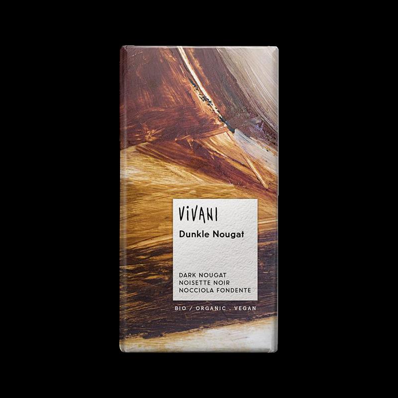 Ekologisk Mörk Choklad Dark Nougat - Vivani - Piggabutiken.se