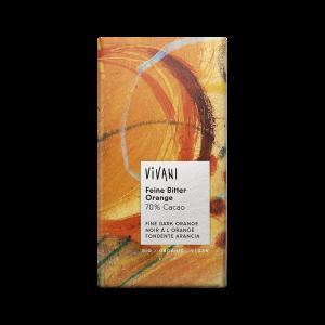 Ekologisk Mörk Choklad Orange