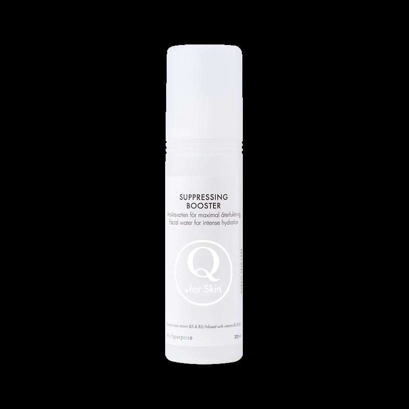 Ansiktsvatten - Suppressing Booster - Q for skin - Piggabutiken.se