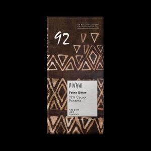 Ekologisk Mörk Choklad Dark 92%