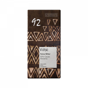 Ekologisk Mörk Choklad Dark 92% - Vivani - Piggabutiken.se