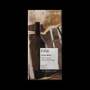 Ekologisk Mörk Choklad Smooth Dark 85% - Vivani - Piggabutiken.se