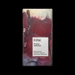 Ekologisk Ljus Choklad Pralin Nougat - Vivani - Piggabutiken.se