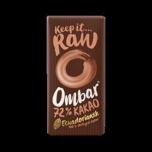 Ekologisk choklad - Raw Probiotic Dark 72%