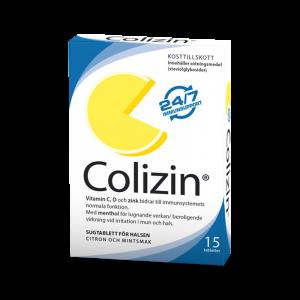 Colizin - sugtabletter