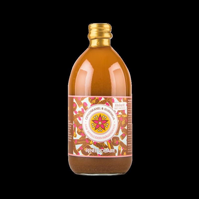 Raw Äppelcidervinäger - Ceylon Kanel & Gurkmeja