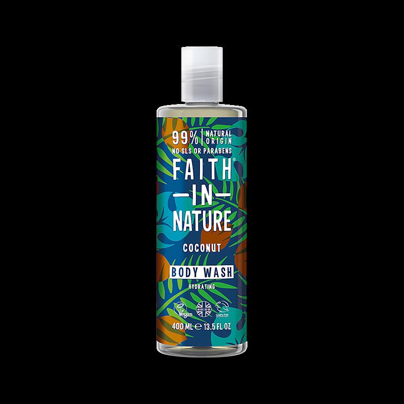 Skumbad/Duschgel - Coconut Shower Gel & Foam Bath - Faith in Nature - Piggabutiken.se