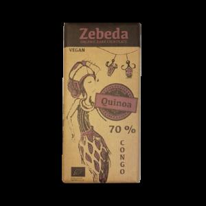 Choklad 70% Quinoa - Zebeda