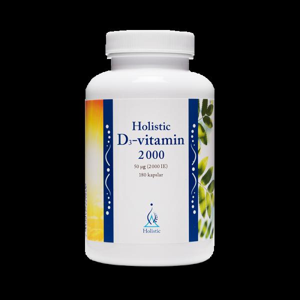 D3-Vitamin Kapslar 2000 IE