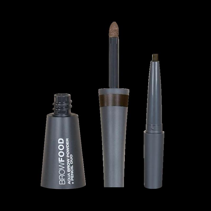 Aqua Brow Powder & Pencil Duo Dark Brunette