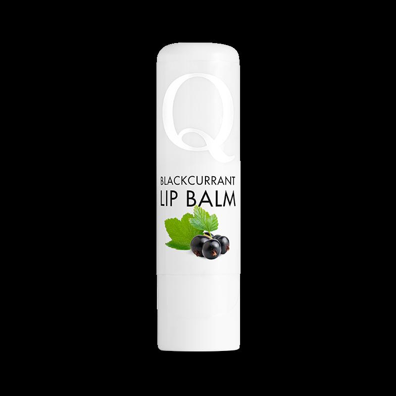 Läppcerat - Blackcurrant Lip Balm - Q for skin - Piggabutiken.se