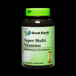 Super Hy Vitamins Premium - Great Earth Scandinavia - Piggabutiken.se