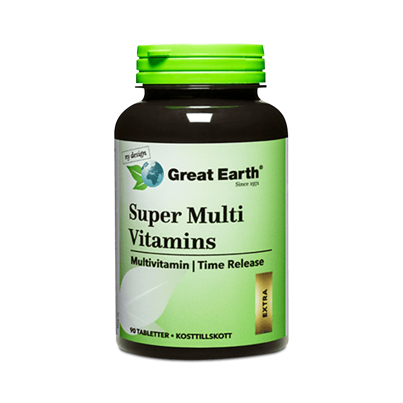 Super Hy Vitamins Premium - Great Earth Scandinavia - Piggabutiken.se