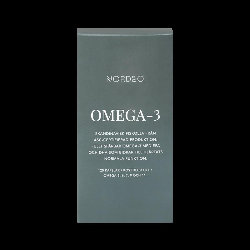 Ekologisk Omega 3 - kapslar - Nordbo - Piggabutiken.se