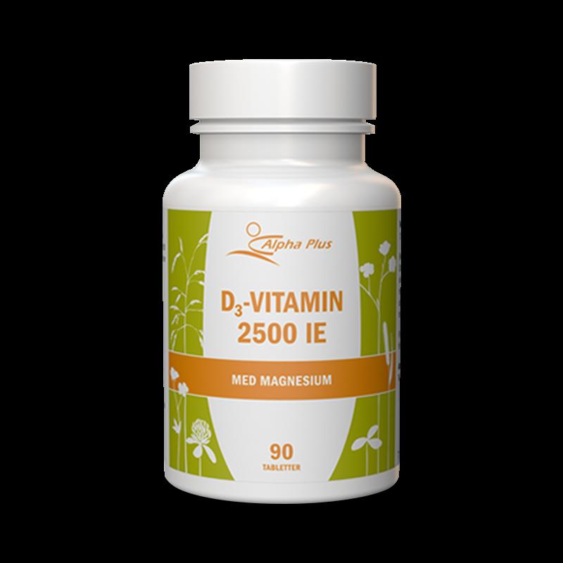 D3-Vitamin - MerVital 2500IE - Alpha Plus - Piggabutiken.se