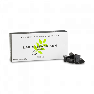 Lakrits - Sweet Liquorice - Lakritsfabriken - Piggabutiken.se