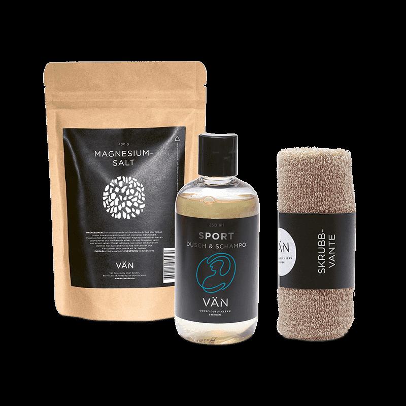 VÄN - Julpaket 5 (S-dusch,Magn.bad, Skrubbvante)