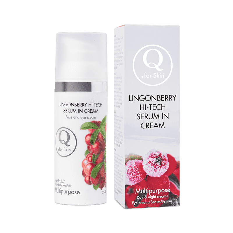 Ansiktskräm - Lingonberry Hi-tech Serum in Cream