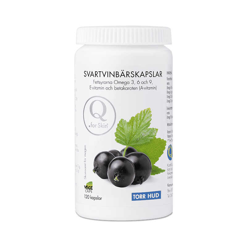 vitaminer för torr hud