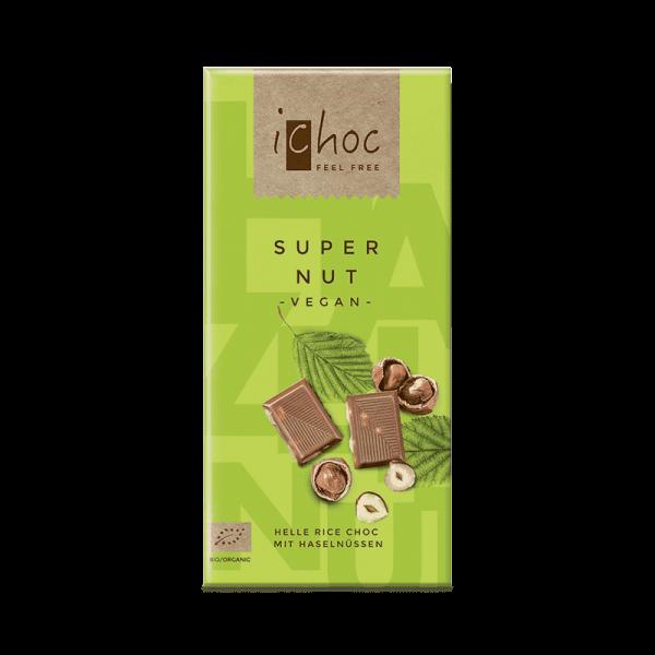 Ekologisk Vegansk Choklad Super Nut