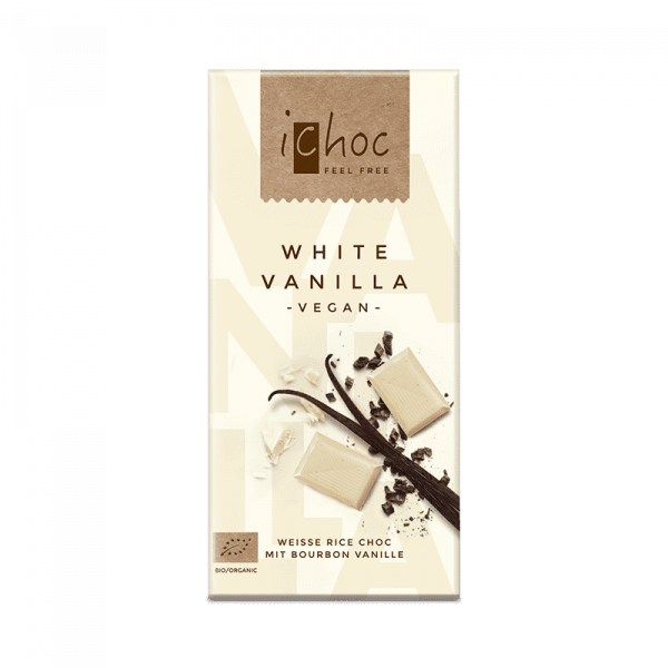 Ekologisk Vegansk Choklad White Vanilla