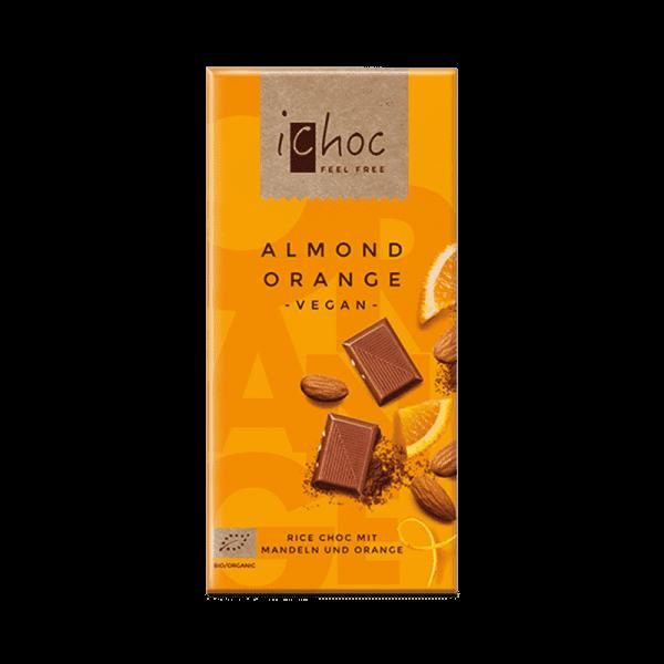 Ekologisk Vegansk Choklad Almond Orange