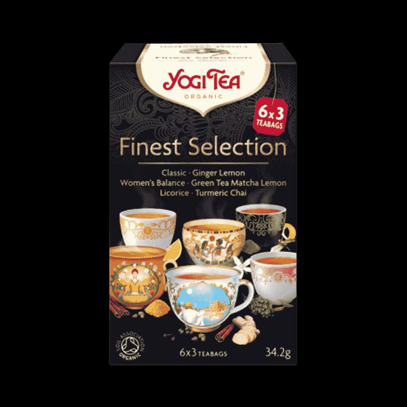 Ekologiskt Te - Finest Selection - Yogi Tea - Piggabutiken.se