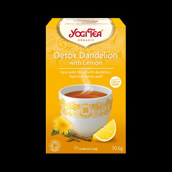Ekologiskt Te - Detox Dandelion Lemon