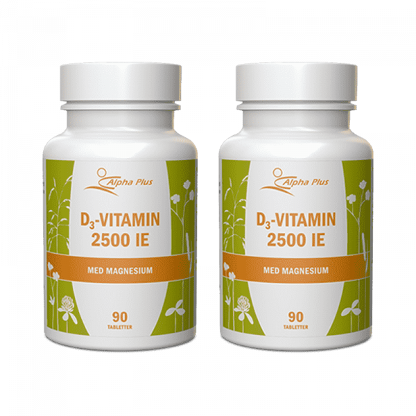 D3-Vitamin 2500IE 2-pack