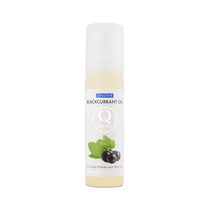 Universalolja - Q Sensitive Blackcurrant Oil - Q for skin - Piggabutiken.se