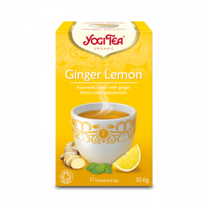 Ekologiskt Te - Ginger Lemon - Yogi Tea - Piggabutiken.se