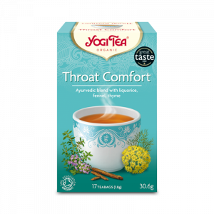 Ekologiskt Te - Throat Comfort - Yogi Tea - Piggabutiken.se