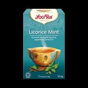 Ekologiskt Te - Licorice Mint - Yogi Tea - Piggabutiken.se