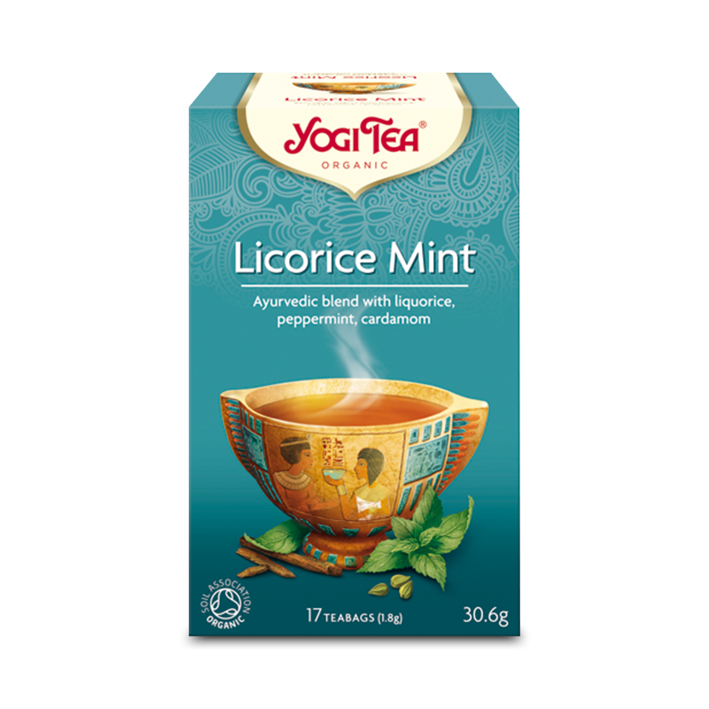 Ekologiskt Te - Licorice Mint - Yogi Tea - Piggabutiken.se